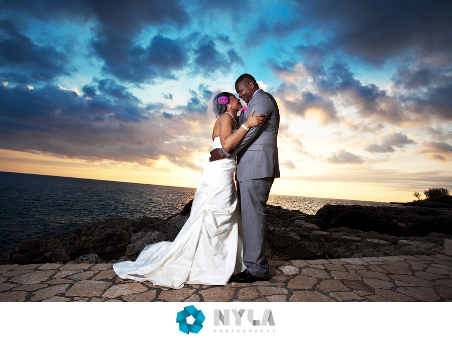 moon dance cliffs wedding